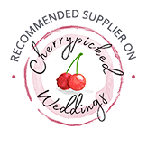 Cherrypicked Weddings | Recommended Supplier Badge